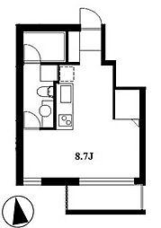 SJScourt[3階]の間取り