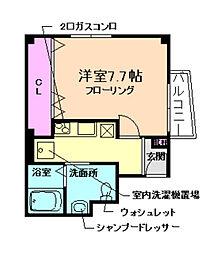 i-Spark豊中南[2階]の間取り