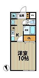 YAMASHIN・笛田[203号室]の間取り