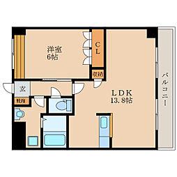 ラ・カンパネラ2[2階]の間取り