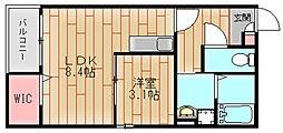 ドリーミン[2階]の間取り