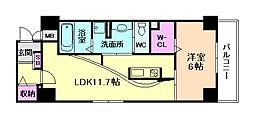EL−Sia Umekita[8階]の間取り