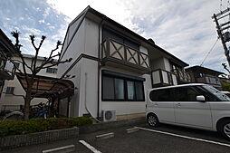大阪府松原市天美我堂3丁目の賃貸アパートの外観