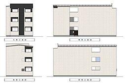 Villetta三国ヶ丘[1階]の外観