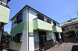 神奈川県川崎市多摩区中野島6丁目の賃貸アパートの外観