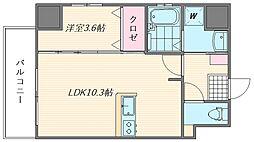 ウインステージ箱崎II[11階]の間取り