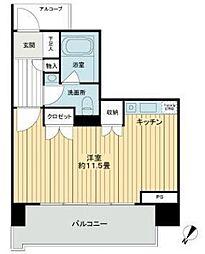ファミールグラン銀座4丁目オーセンティア[2階]の間取り