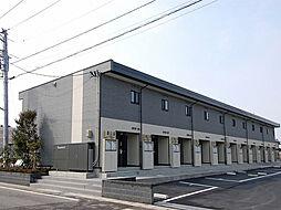 新潟県新発田市住吉町5丁目の賃貸アパートの外観