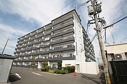 岡山県倉敷市老松町5の賃貸マンションの外観