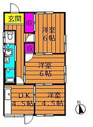 [一戸建] 岡山県倉敷市老松町1丁目 の賃貸【/】の間取り