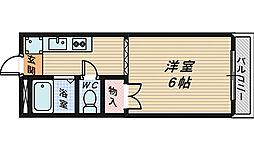 大阪府和泉市唐国町2丁目の賃貸アパートの間取り