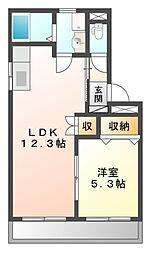 クレストールS・K[102号室]の間取り