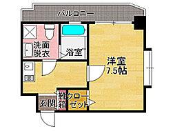 ダイナコートエスタディオミューズ[6階]の間取り