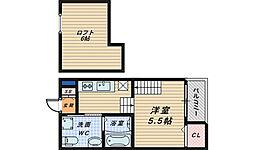 パロアルト[2階]の間取り