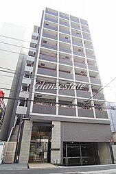 神奈川県横浜市港北区新横浜1の賃貸マンションの外観