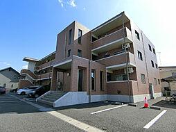 栃木県宇都宮市針ヶ谷町の賃貸マンションの外観