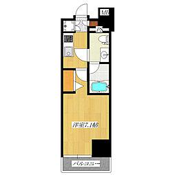 プレミアムキューブ東十条Aria[8階]の間取り