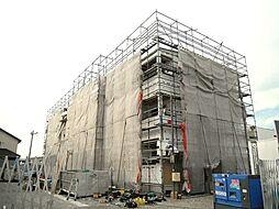 茨城県結城市新福寺3の賃貸アパートの外観