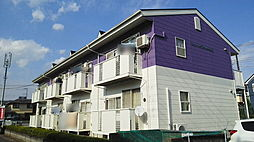 埼玉県北葛飾郡松伏町ゆめみ野4丁目の賃貸アパートの外観