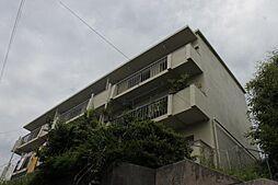 愛知県岡崎市明大寺町字向山の賃貸マンションの外観