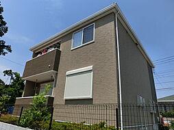 東京都練馬区土支田2丁目の賃貸アパートの外観