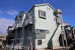 神奈川県川崎市多摩区中野島3丁目の賃貸アパートの外観