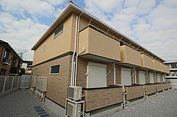 千葉県船橋市本中山7丁目の賃貸アパートの外観