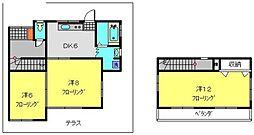 [一戸建] 神奈川県横浜市港南区最戸1丁目 の賃貸【/】の間取り