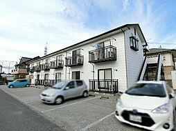 栃木県宇都宮市御幸町の賃貸アパートの外観