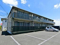 栃木県さくら市氏家の賃貸アパートの外観