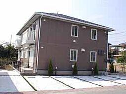 茨城県古河市南町の賃貸アパートの外観