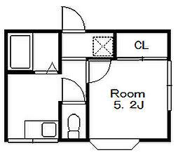 サンフェリティ[2階]の間取り