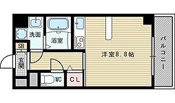 Doクレスト新大阪[7階]の間取り