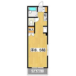 欅ビル[310号室]の間取り