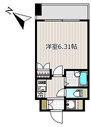 レジディア三越前[8階]の間取り