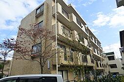 神奈川県横浜市青葉区若草台の賃貸マンションの外観