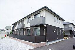 栃木県下野市文教3丁目の賃貸アパートの外観