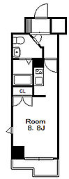 ドゥーエ国府台[6階]の間取り