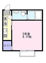 CAREL新鎌ヶ谷[2階]の間取り