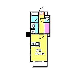スターレジデンス大倉山[1階]の間取り