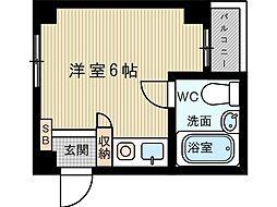 コージーハウス[4階]の間取り