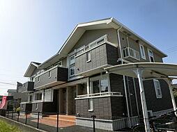 千葉県市原市今津朝山の賃貸アパートの外観