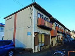 神奈川県海老名市河原口の賃貸アパートの外観