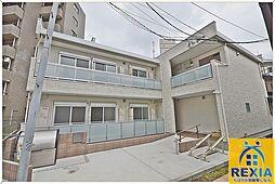 千葉県千葉市中央区長洲1丁目の賃貸アパートの外観