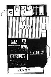 メゾン335[2階]の間取り