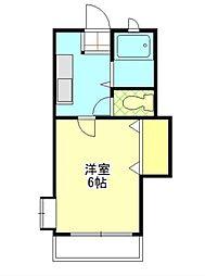 センティア澤田[1階]の間取り