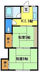 文佳苑[1階]の間取り