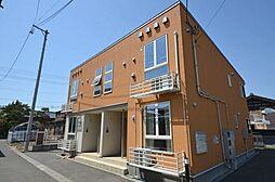 新潟県新潟市南区七軒町の賃貸アパートの外観