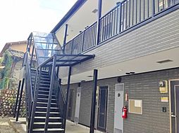 長野県松本市出川町の賃貸アパートの外観