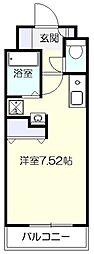 神奈川県横浜市青葉区しらとり台の賃貸マンションの間取り